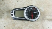 12 Triumph Speed Triple 1050 gauges speedometer tachometer dash meters