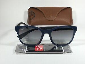 Authentic Ray-Ban Active Lifestyle Wayfarer Sunglasses RB4197 Blue Gray Gradient