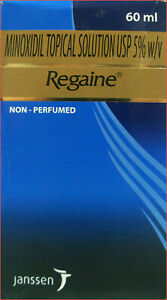 60 ml Regaine 5% Minoxidil Topical Solution For Hair Care Free Shipping