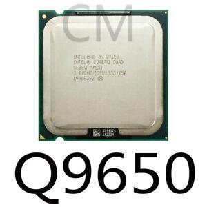 Intel Core 2Quad  Q9400 Q9500 Q9505 Q9550 Q9650 Processor