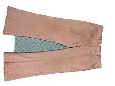 Broomsticks by Glen Oaks Polyester Seersucker Pants Leisure Disco Golf Men Sz 38