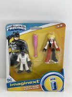 Fisher Price Imaginext DC Super Friends Harley Quinn & Black Mask Figures New B