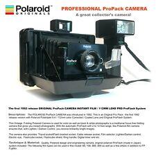 POLAROID PROFESSIONAL ProPack CAMERA INSTANT FILM /112mm LENS / ProFlash /1992s