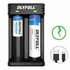 18650 Battery Charger, Dlyfull Lithium-ion USB Battery Charger for 3.7V IMR/ICR
