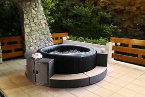 MSPA 6 Personen PREMIUM Whirlpool Camaro 6 Pers. 204cm Indoor + Outdoor Pool