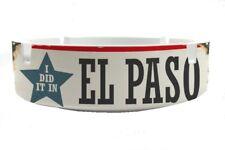 Aschenbecher rund Stadt El Paso USA Ascher