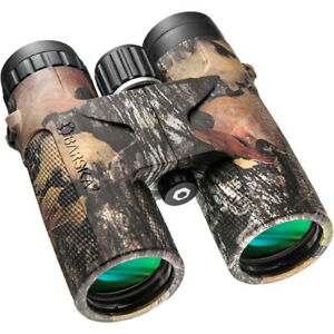 Barska 12x42 Blackhawk Waterproof Binocular w/ Mossy Oak Break-Up Camo, AB11848