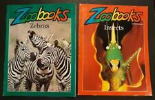 2-For-1 Low Price! Animal Lovers - Zoo Books Featuring Insects & Zebras