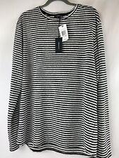 TWENTY Black/White Stripes SCALLOP BASIC $118