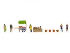 More details for noch 16226 ho/oo gauge at the fruit market themed figure set