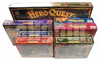 HEROQUEST + 7 EXPANSIONS FULL SET ALL SEALED SHRINKWRAPPED 1989 UNIQUE NIB RARE