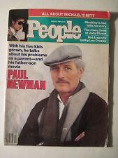 People Magazine. March 19 1984. Paul Newman! Michael Jackson! UNC!