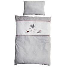 Roba Kinderbettwäsche Bettwäsche 2-teilig 100x135 cm + 40x60 cm Adam & Eule NEU
