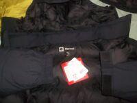 Marmot Yukon Biggie McMurdo AK Arctic Goose Down Parka Jacket Coat 3X /4XL Black