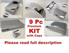Corvette C6 2008 LS3 9 Pc Engine Cover Kit Polished Stainless chrome caps