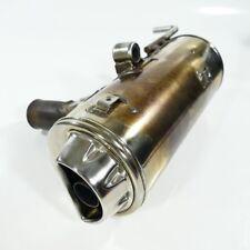 Bmw f650 f650gs e650g escape silenciador silenciador derecha sólo 13413km