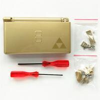 Gold The Legend of Zelda Housing Shell For Nintendo DS Lite NDSL DSL Case