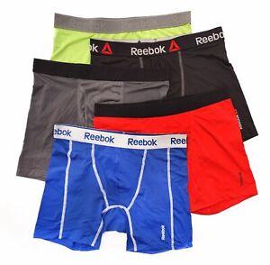 SALE Reebok 5 Pack Mens Quick Dry Sports Trunks Boxer Briefs Underwear S-XL