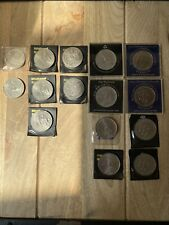 More details for bank coins 80th queen mother, lady diana royal wedding, 1981, 1977, 1980, crown