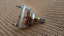 CERAMIC SELECTOR 9 WAY POSITION TURN ROTARY SWITCH SINGLE DECK MBB D SHAFT 10MM