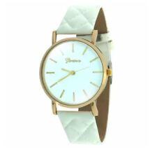 DOOKA Geneva Women's Leather Strap Watch (Cream)