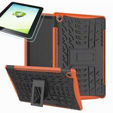 Für Huawei MediaPad M5 10.8 und Pro Hybrid Outdoor Orange Tasche 0.4 H9 Glas Neu