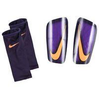 NIKE Mercurial Lite Football Shin Guards Pads  Grape Purple ADULT Small A161-1