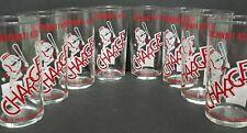 Cincinnati Reds One glass Cup Baseball Charge Tresler Comet Vintage 1960s MR RED