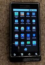 Motorola Droid A855  Black (Verizon) Smartphone no return