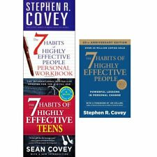 Stephen Covey Set 7 Habits of Highly Effective Teenagers 3 Books Collection