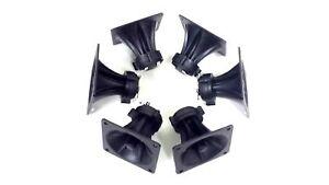 """6 pieces 3.25"""" x 3.25"""" Piezo Tweeter Car Audio DJ Speaker Super Horn"""