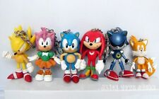 Sonic the Hedgehog GAME PVC toy keychain Figure Toy Lot of 6 AU