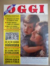 OGGI n°46 1974 Caterina Caselli Paul Getty Farinon Aldo Moro [G775]