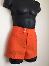 VTG 1970s Whang Orange Men's Shorts Washington Hosiery Athletic Needlework Group