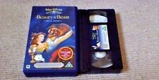 Beauty And The Beast Special Edition DISNEY UK PAL VHS VIDEO 2002 Celine Dion