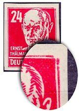 Gestempelte Echtheitsgarantie Deutsche Briefmarken der sowjetischen Besatzungszone