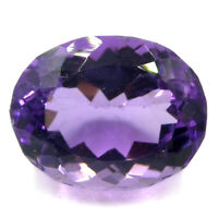 Cts. 10.00 Natural Brazil Amethyst Untreated Oval Cut Stone Loose Gemstone