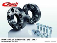 Eibach ABE Spurverbreiterung schwarz 40mm System 7 VW Golf VI Cabrio (517,1K)
