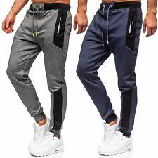Sporthose Jogger Hose Trainingshose Slim Fit Sport Fitness Herren Mix BOLF Motiv