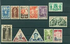 Monaco 1951 - Y & T  n. 353/64 - Année Sainte *