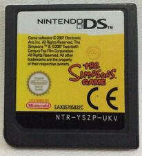 Nintendo DS Cartridge The Simpsons Game