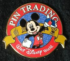 1999 WALT DISNEY WORLD MICKEY PIN TRADING AWARD PIN WITH 4 WDW PARK LOGOS - HTF