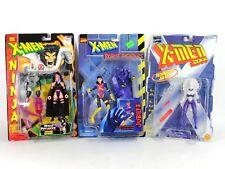 Lot ToyBiz X-men Robot Fighters Jubilee 2099 La Lunatica Ninja Psylocke 1996 97