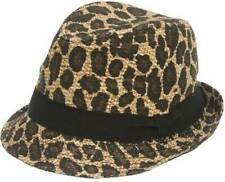 1481758536d93 Fedora Trilby Leopard Hats for Women for sale