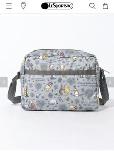 Japan Exclusive Classic Pooh X Lesportsac Crossbody Bag