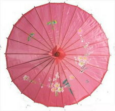 Set of 4 Kid's Size Chinese Japanese Oriental Parasol Umbrella 22-in S-2169x4