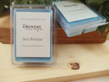 Sea Breeze Scented Soy Wax Clamshell Melt Tart- 2wks of Fragrance