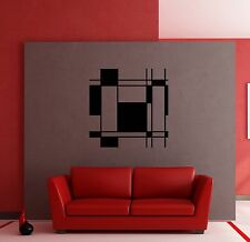 Wall Stickers Vinyl Decal Modern Abstract Decor for Living Room z1225