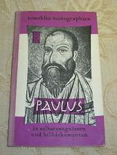 Vintage Book Of Paulus In Selbstzeugnissen Und Bilddokumenten - 1959