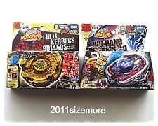 Beyblade Metal Big Bang Pegasis F:D vs. Gold Hell Kerbecs BD145DS Takara Tomy